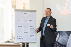 Achim Vetter beim Dialogum Customer Experience Management Summit 2018